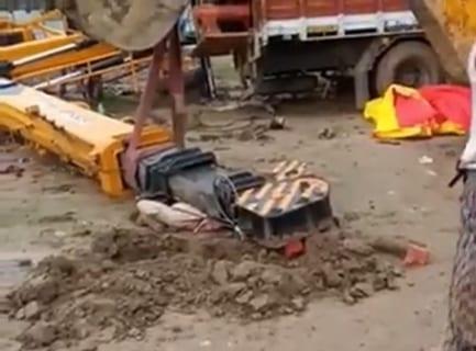 【閲覧注意】20トンに潰された建設作業員の姿がエグすぎた