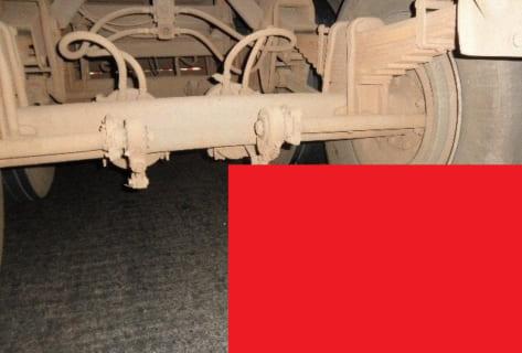 【閲覧注意】トラックに引きずり回されたライダーの姿が・・・もはや地獄絵図