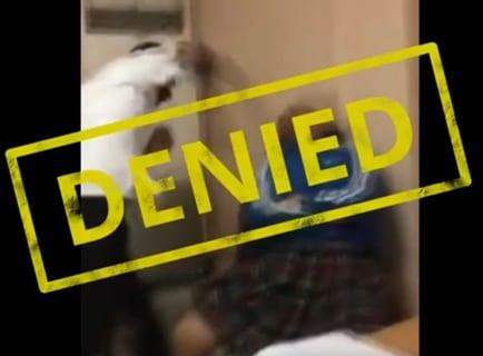 【動画】「男は殴らない」と思ってる女子高生をフルスイングでぶん殴った結果・・・