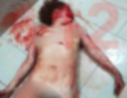 【閲覧注意】全裸で悪魔払いを受けた妹、とんでもない姿になる ロシア