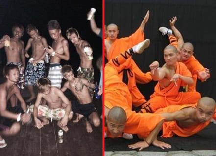 【衝撃】ヤンキー高校生 vs. 中国武術の練習生が喧嘩した結果wwwwww