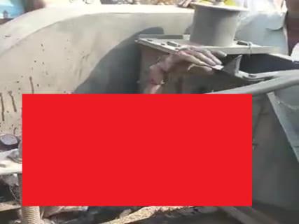 【閲覧注意】機械にぐるぐる巻きにされたまま誰にも気付かれなかった農家の姿が…(動画)