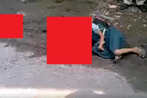 【閲覧注意】ランドセルを背負った女子小学生が襲われた・・・伝説の動画