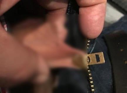【閲覧注意】ズボンのチャックにチ●チンが挟まる、の最も恐ろしい画像(1枚)