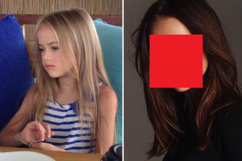 【画像】6年前「世界一の美少女」だと話題になったロシアの天使(当時8歳)、現在の姿がこちら…