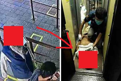 【速報】駅の行列で唾を吐いたコロナ感染者、翌日死亡。因果応報だと話題に(死体画像あり)