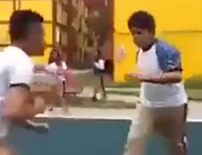 【動画あり】いじめられっ子、いじめっ子をボッコボコにしてしまうwwwwww