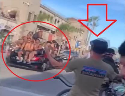 【衝撃映像】アメリカの黒人抗議者に白人が喧嘩売ったらこうなる…ヤバイ…