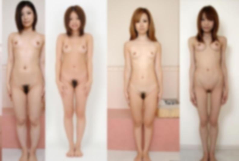 裸無修正 美しく卑猥な全裸ヌード写真