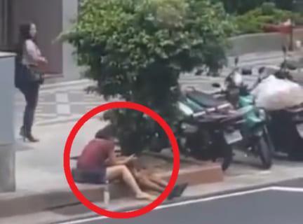 【動画】中国の路上売春婦さん、ガチでどこでもヌイてくれる…