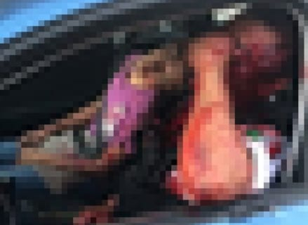 【閲覧注意】刑務所の看守、出所したメキシコギャングに襲われ子供ごとこうなる