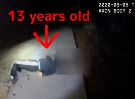 【狂気】アスペルガー症候群の13歳少年、言う事を聞かず、米警察に銃撃され重傷