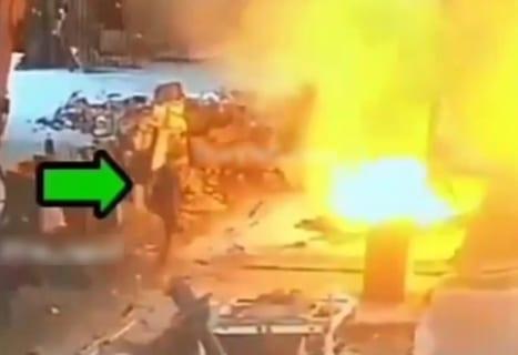 【驚愕】1000℃の溶融金属に飛び込んで自殺した作業員の映像がやばすぎる