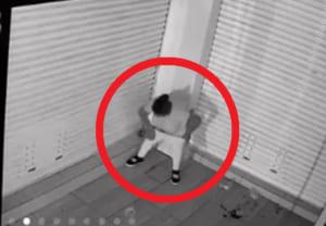 【衝撃映像】夜道で立ちションしてる女性、今から男にヤバい事されます・・・