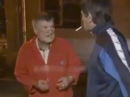 【衝撃映像】DQNがケンカ売ったおじいちゃん、元ボクサーだった結果wwwwww
