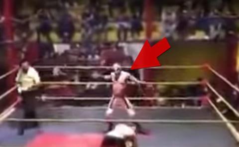 【恐怖】プロレスラーが死んだ試合の映像、怖すぎるんだが・・・
