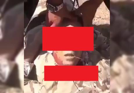【閲覧注意】斬首されて数十秒経った人の顔、動き出してしまう・・・(動画)