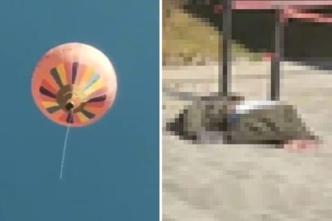 【閲覧注意】200mの高さから地面に叩きつけられた人間、嘘みたいな姿になる