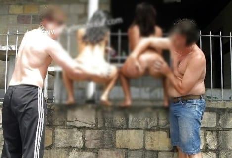 【動画】南米ギャング、スラム街の少女にHな罰を与えてしまう…