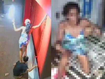 【超悲報】ドラッグストアでLED電球盗んだヤンキー女、晒され、拉致られ、拷問される