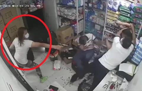 【閲覧注意】海外の女の殺し屋、凄すぎる(動画あり)