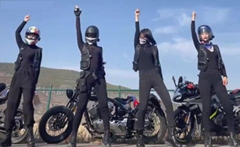 【閲覧注意】バイク女子「みんなでレースしよう!」⇒ 4人中2人が即死・・・