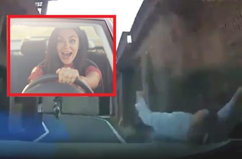 【閲覧注意】女の運転、わけが分からなすぎる(動画あり)