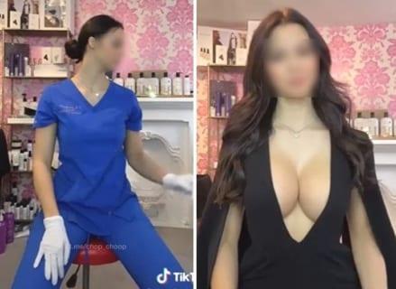 【画像】看護師♀さん、脱いだらおっぱいが凄すぎてグラビアデビュー