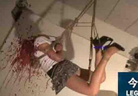 """【閲覧注意】世界で最も恐ろしい """"拷問"""" 後の女の画像が流出・・・嘘だろ・・・"""
