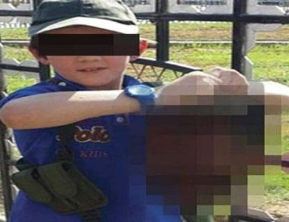 【閲覧注意】伝説の動画。7歳の子供が大人を殺す瞬間