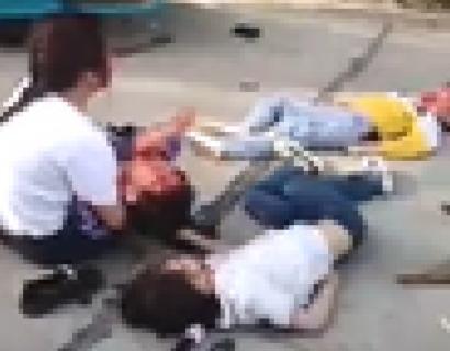 【閲覧注意】女さん、一瞬で娘・息子が死亡、夫も瀕死、そして心が壊れ…(動画)