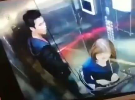 「エレベーター人妻レ●プ事件」の映像が公開されたけど怖すぎるだろ…(動画あり)