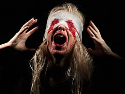 【閲覧注意】全裸女さん、レ●プより100倍キツイ拷問を受ける(画像あり)