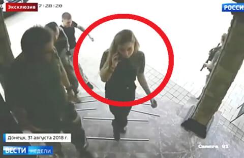 【衝撃】ロシアの反政府勢力のボス(♀)、ボディーガード6人とカフェに入った瞬間爆殺される…