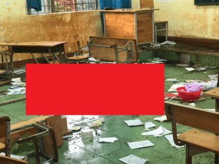 【閲覧注意】行方不明になってた女子高生、学校でとんでもない姿となって発見される(画像あり)