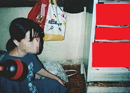 【閲覧注意】伝説の画像。「人食い女と、その冷蔵庫」(画像1枚)