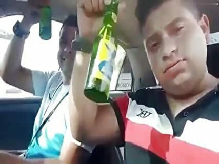 【閲覧注意】この飲酒運転配信してるDQN、3分後こうなりました…(動画あり)