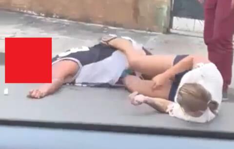 【動画】ヤンキー男 VS 格闘技習ってる女子の喧嘩、ヤバい事になる…