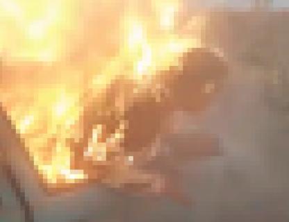 【閲覧注意】女さん、生きたまま燃やされ叫び続ける・・・(動画あり)