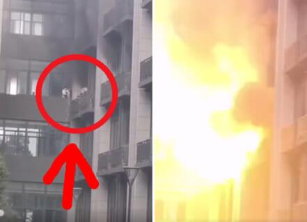 【速報】大学の実験室で爆発。11人死傷。その瞬間の映像がヤバイ…